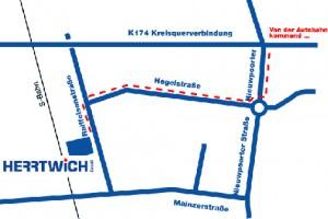 Herrtwich GmbH - Lageplan