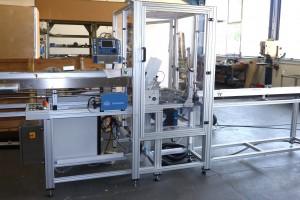 Anlage zur Laserbeschriftung von Verpackungen